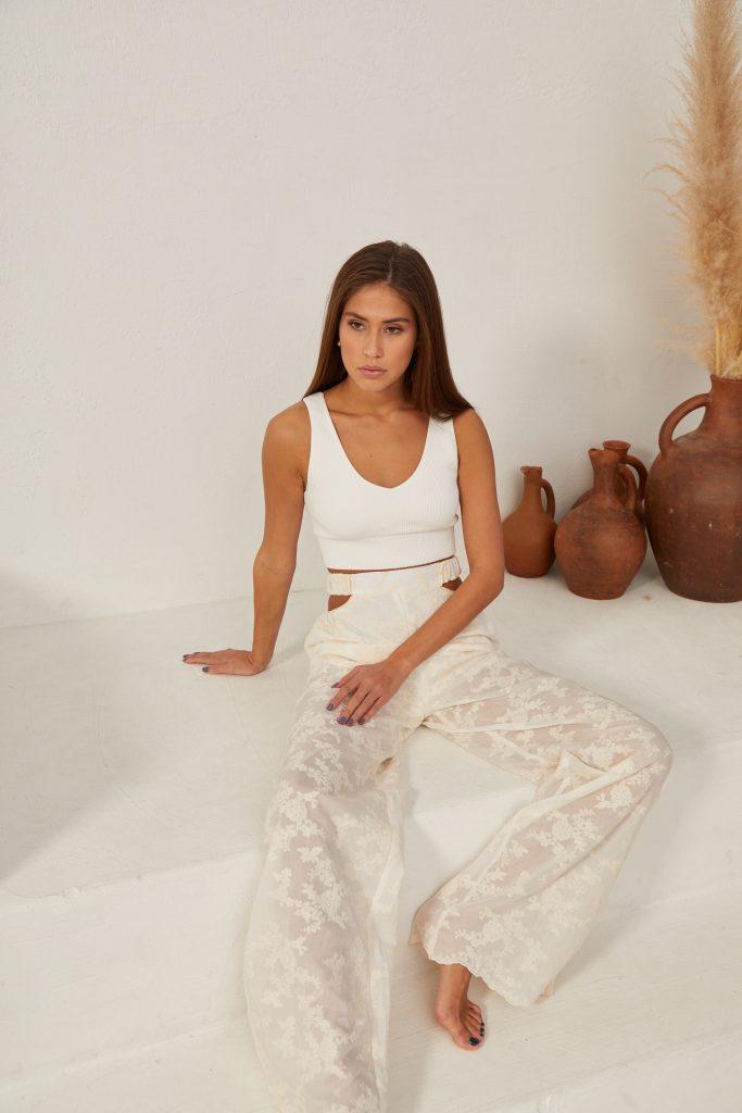 Silk Trousers Beliz