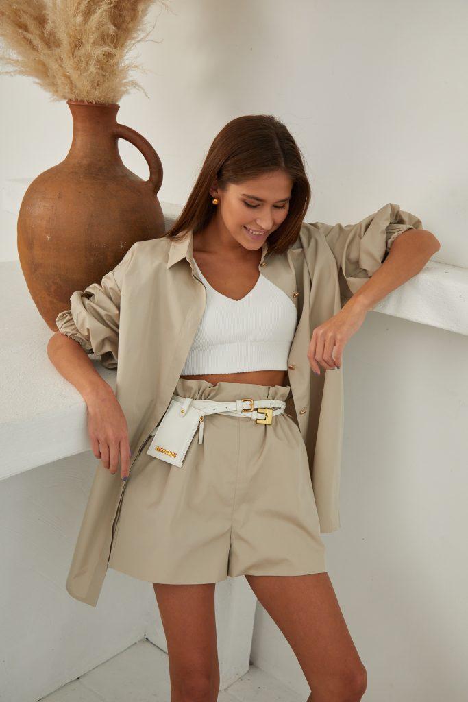 Suit Pilate shirt and Vadi shorts